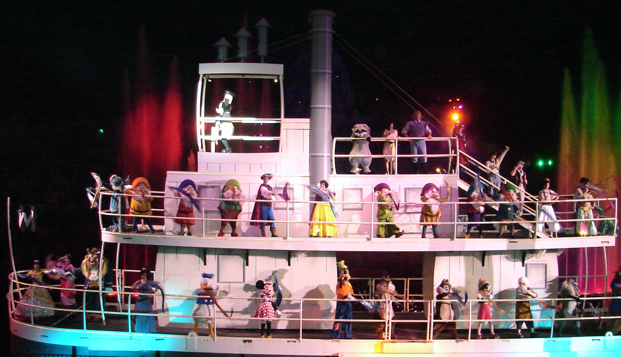 Increased Seating Planned For Fantasmic English Blog